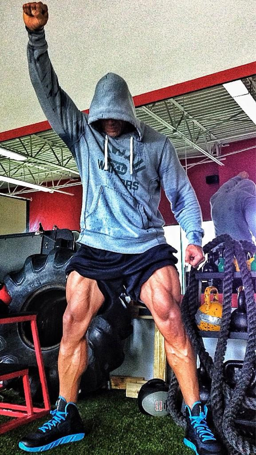The Rock Leg Day