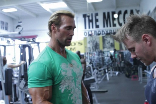 Mike O'Hearn Power Lifting Body Building Techniques