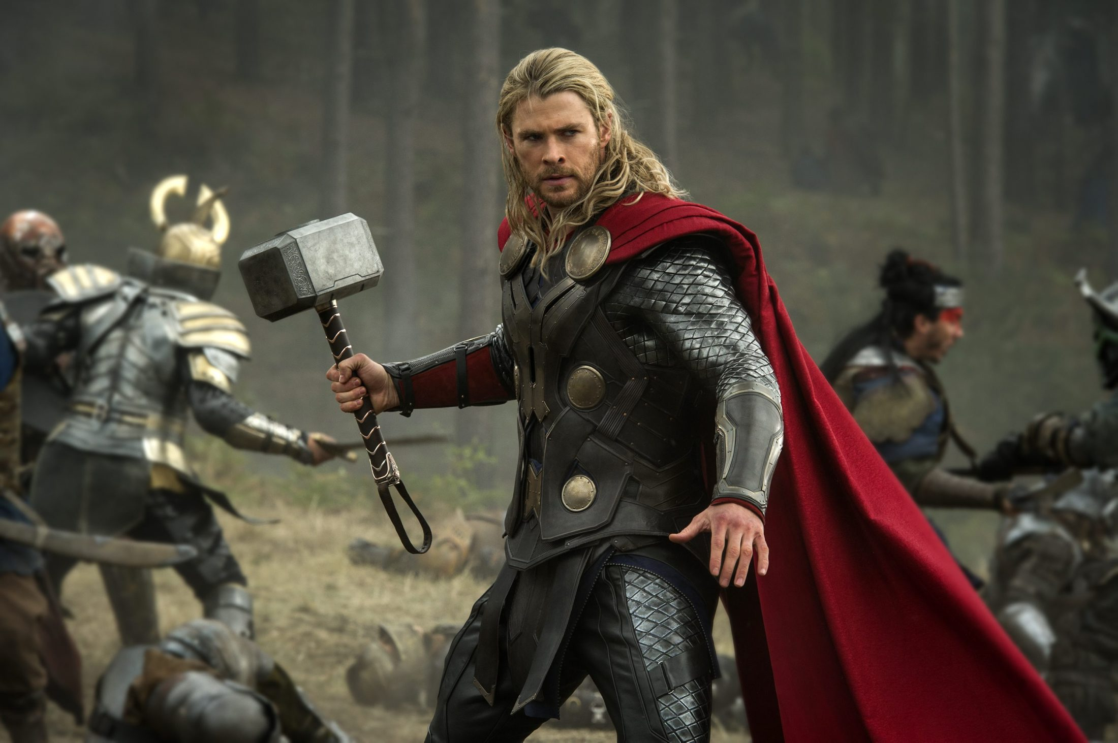 Thor Dark World Chris Hemsworth Workout