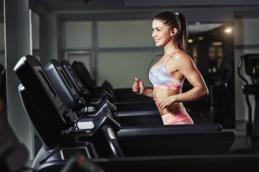 Treadmill cardio to melt away the fat