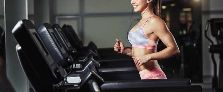 Treadmill cardio to melt away the fat